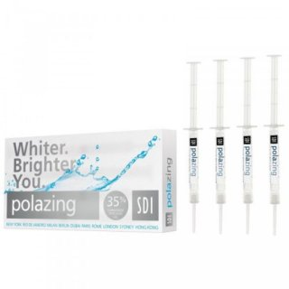 ポーラジン 35% ホワイトニング4本  POLA ZING 35% 'JUMP START' TEETH WHITENING SYSTEM - 4 SYRINGES