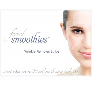 Facial Smoothies Wrinkle Remover Strips シワ取り テープ - 即効性 シワ対策 ケア クリア