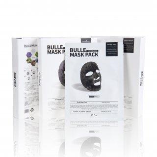 ☆≪販売終了≫【正規品】シバサン EXプレイ ビューレ マスクパック 5枚入り(炭酸パック/マイクロバブル) Civasan EX-Play Bulle Mask Pack 5 sheets