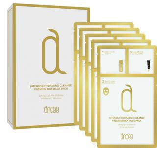 【正規品】アンセ DNA/核酸入り プレミアム マスクパック/3ステップマスク 10枚入り(箱) Ancee Premium DNA Mask Pack