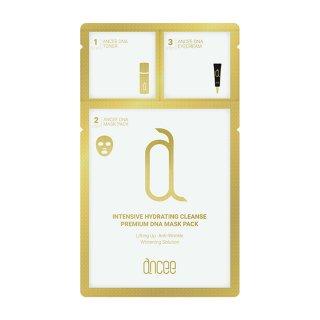 お試し用1枚 アンセ DNA/核酸入り プレミアム マスクパック/3ステップマスク Ancee Premium DNA Mask Pack【正規品】