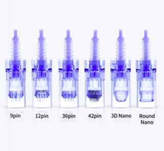ドクターペン カートリッジ 10個入り (ダーマローラー) Dr.pen ULTIMA-A6 Microneedling tips cartridge pins & nano