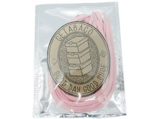 GETABACO COTTON LACES PINK<BR>ゲタバコ コットンレース ピンク 日本製