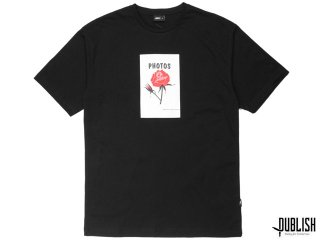 【2017 SUMMER COLLECTION】PUBLISH BRAND PHOTOS FLOWER S/S TEE BLACK