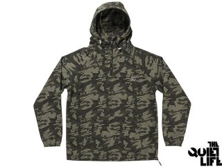 THE QUIET LIFE CAMO WINDY PULLOVER ARMY<BR>クワイエットライフ カモ ウィンディ プルオーバー