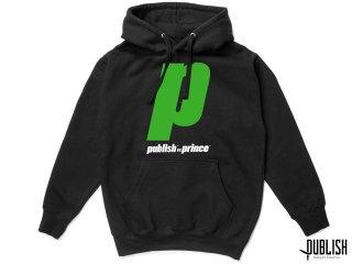 PUBLISH BRAND x PRINCE VERSUS P HOODIE BLACK<BR>パブリッシュブランド プリンス バーサス フーディー パーカー ブラック