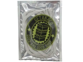 GETABACO FLAT LACES GLOW IN THE DARK<BR>ゲタバコ フラットレース グローインザダーク