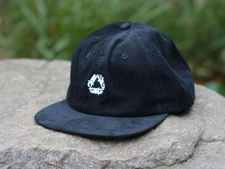 CHAIN REACTION CAPSULE COLLECTION CORDUROY SNAPBACK BLACK/WHITE
