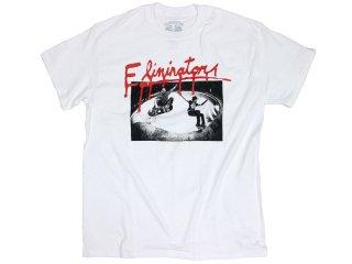 ELIMINATOR SLASH TEE WHITE<BR>エリミネーター スラッシュ ティー ホワイト