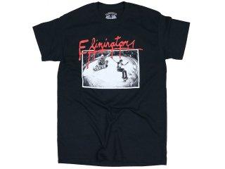 ELIMINATOR SLASH TEE BLACK<BR>エリミネーター スラッシュ ティー ブラック