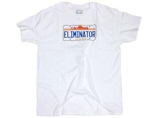 ELIMINATOR PLATES TEE WHITE<BR>エリミネーター プレーツ ティー ホワイト