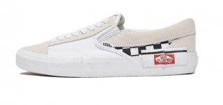 VANS SLIP ON CAP WHITE<BR>バンズ スリップオン キャップ ホワイト