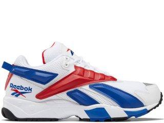 REEBOK INTVL 96 WHITE/COLLEGE ROYAL/SCARLET<BR>リーボック インターバル ホワイト カレッジロイヤル スカーレット