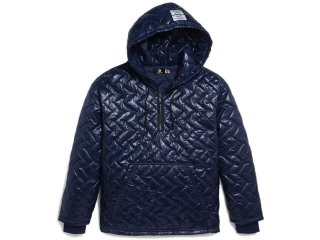 CONVERSE x P.A.M. QUILTED HOODIE NAVY<BR>コンバース パークアンドミニ キルティングフーディ
