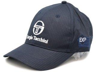 SERGIO TACCHINI x EXPANSION LOGO CAP NAVY<BR>セルジオタッキーニ エクスパンション ロゴキャップ ネイビー STA-916-N