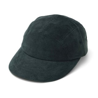 P CORD CAMP CAP DARK GREEN