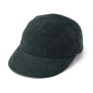 P CORD CAMP CAP DARK GREEN