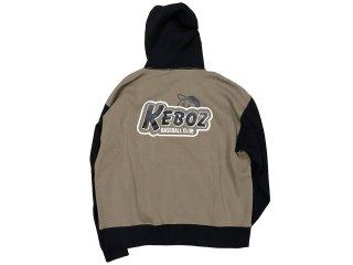 KEBOZ TWO TONE KBC PULLOVER BROWN/BLACK