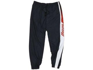 MIZUNO TRACK PANTS 90s BLACK/WHITE/RED<BR>ミズノ トラックパンツ ブラック ホワイト レッド