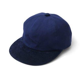 P CAP NAVY SUEDE