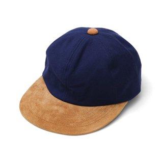 P CAP CAMEL SUEDE