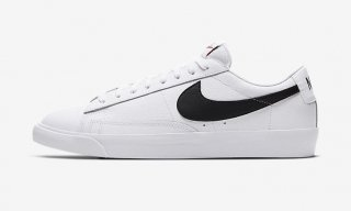 NIKE BLAZER LOW LEATHER WHITE/BLACK