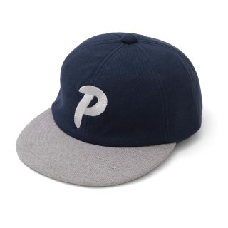 P CAP DURABLE SWEAT NAVY/GREY MADE IN JAPAN