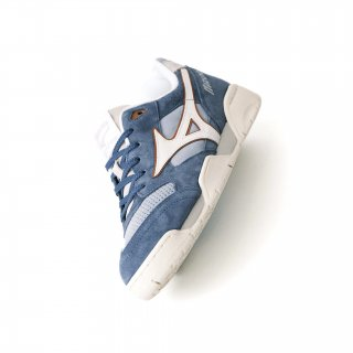 MIZUNO COURT SELECT SLATE BLUE/ORANGE