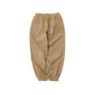 KEBOZ CORDUROY WIDE PANTS BEIGE