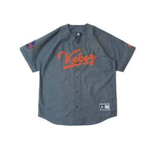 KEBOZ x STARTER BLACK LABEL BASEBALL SHIRTS 3.0 GREY