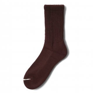 COMFY SOCKS  LOW CREW BROWN