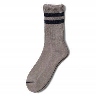 COMFY SOCKS  LINE LOW CREW COOL GREY/NAVY