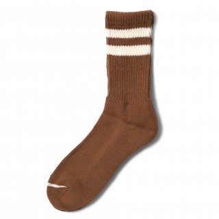 COMFY SOCKS  LINE LOW CREW COYOTE/CREAM