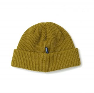 KEBOZ LOOSE BEANIE YELLOW