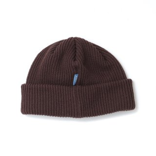KEBOZ LOOSE BEANIE BROWN