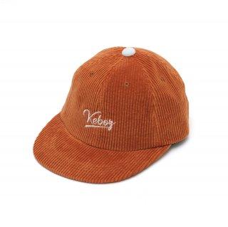 KEBOZ CORDUROY CAP ORANGE