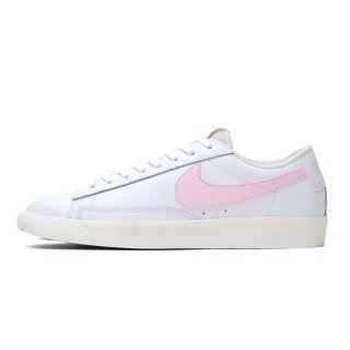 NIKE BLAZER LOW LEATHER WHITE/PINK FORM