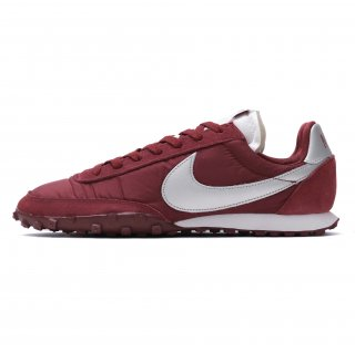 NIKE WAFFLE RACER TEAM RED/METALLIC SILVER
