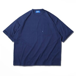 KEBOZ KBIG POCKET TEE NAVY