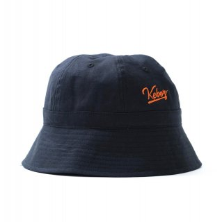 KEBOZ LINEN HAT BLACK