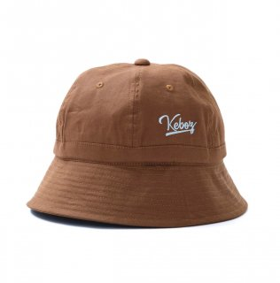 KEBOZ LINEN HAT CHOCOLATE