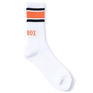 KEBOZ LINE SOCKS ORANGE/BLACK