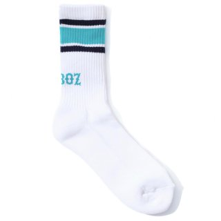 KEBOZ LINE SOCKS MINT/NAVY
