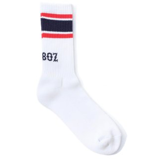 KEBOZ LINE SOCKS NAVY/RED