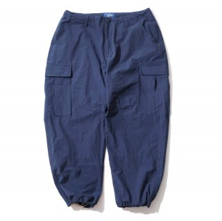 KEBOZ WIDE CARGO PANTS NAVY