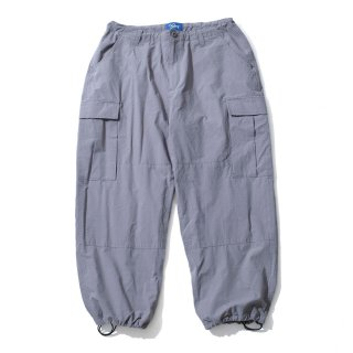 KEBOZ WIDE CARGO PANTS GREY