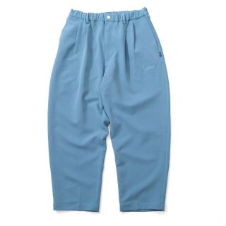KEBOZ WIDE TR2 PANTS TURQUOISE BLUE