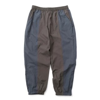 KEBOZ BC TRACK PANTS OLIVE BLUE GREY