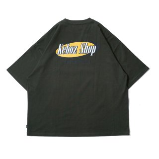 KEBOZ FM S/S TEE FOREST GREEN
