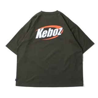 KEBOZ 2BC S/S TEE FOREST GREEN